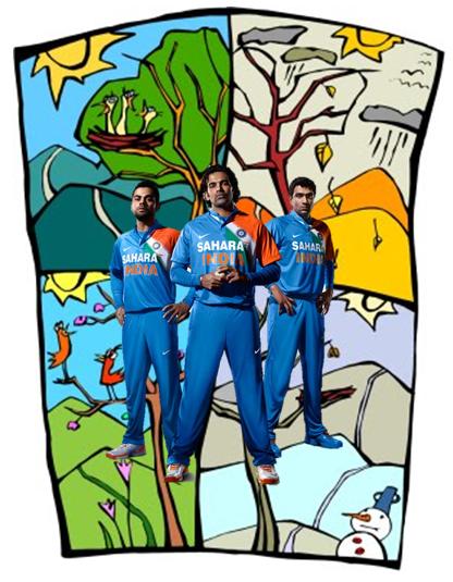 the cricketing season